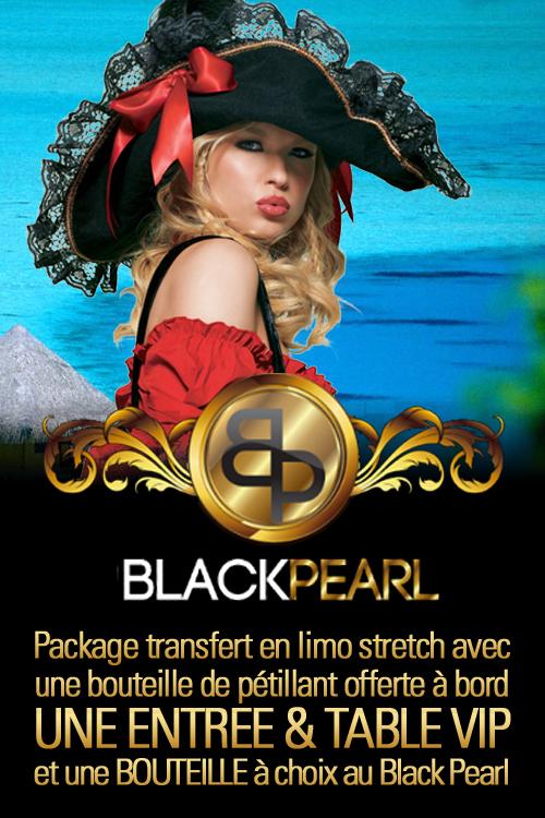 Black pearl club montreux en limousine