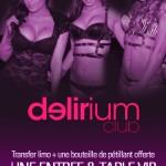 Delirium montreux club en limousine