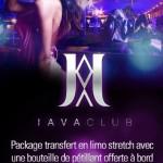 réservation table javaclub genève en limousine
