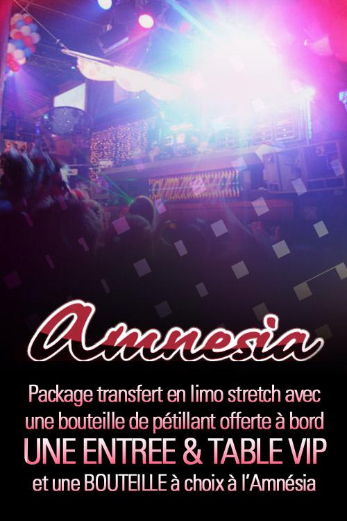 Amnésia lausanne en limousine