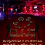 Cult club lausanne en limousine