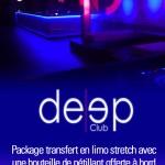 Deep Club Genève en limousine