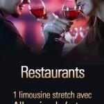 location d'une limousine pour un restaurant de genève