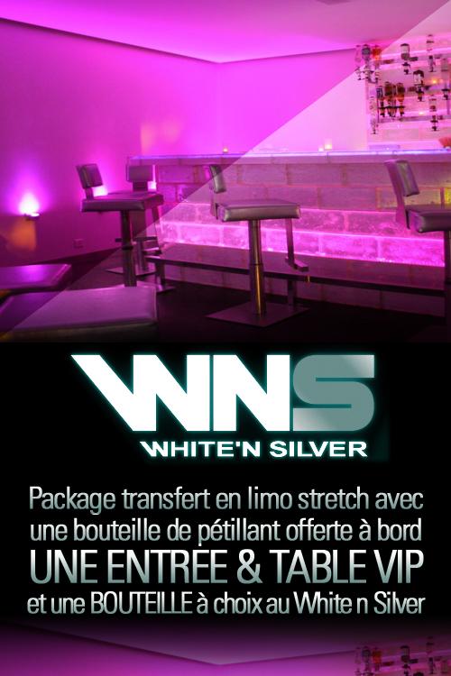 White n Silver genève en limousine