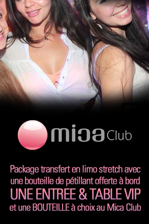 Mica club lausanne en limousine