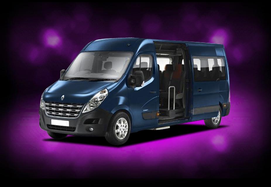 minibus renault master genève