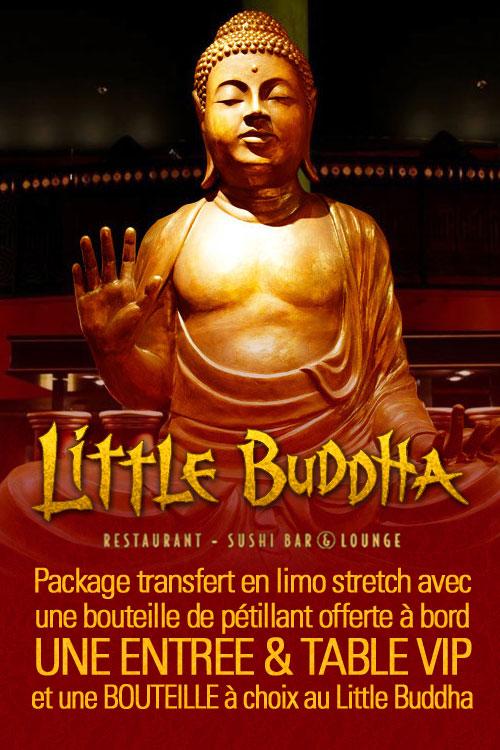 Package Little Buddha Genève en Limousine