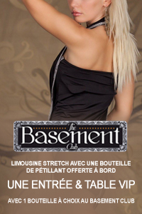 Package Basement club en limousine