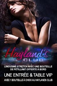 Package Hayland's Club en Limousine